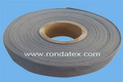 Stainless steel fiber woven tape has the feature of soft,heat resistant,high strength