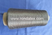 100% Fe-Cr-Al short fiber spun yarn ,resist max 1400 C