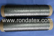 Stainless steel fiber sewing thread ia made of 100% stainless steel filament fiber