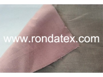Silver/Cotton Double Layer Anti Radiation Fabric