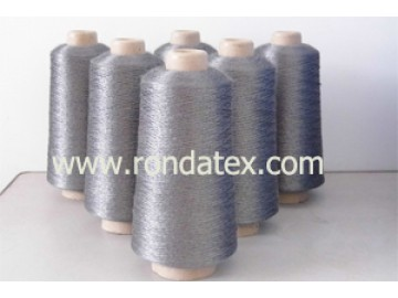 stainless steel fiber yarn is made of 100% stainless steel fiber,conductive,heat resistant,corossion resistant