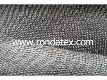 Fe-Cr-Al knitted fabric is made of Fe-Cr-Al alloy fiber ,flame resistant 1200 dgree centigrade