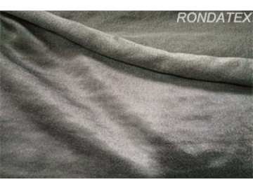 Pure stainless steel fiber knitted fabric has the feature of heat resist,conductive and electromagnetic shielding