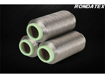 Silver fibers have excellent functions of antimicrobial, conductive and radiation shielding